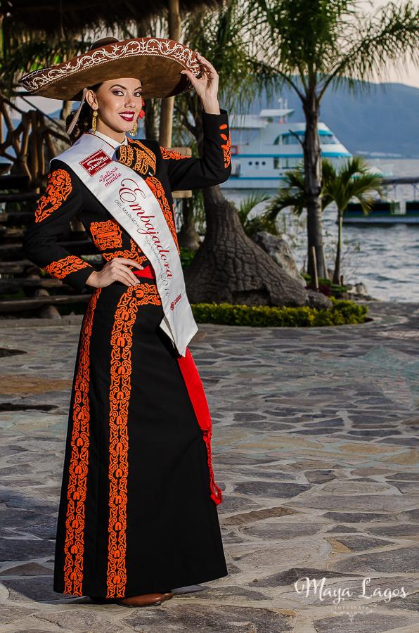 Convocatoria Certamen Embajadora del Mariachi 2017 vestuario El Charro - Maya Lagos.